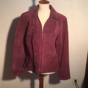 🎉A.M.I leather jacket